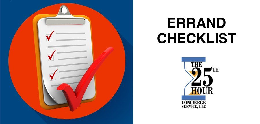 The Ultimate Two Step Errand System Checklist